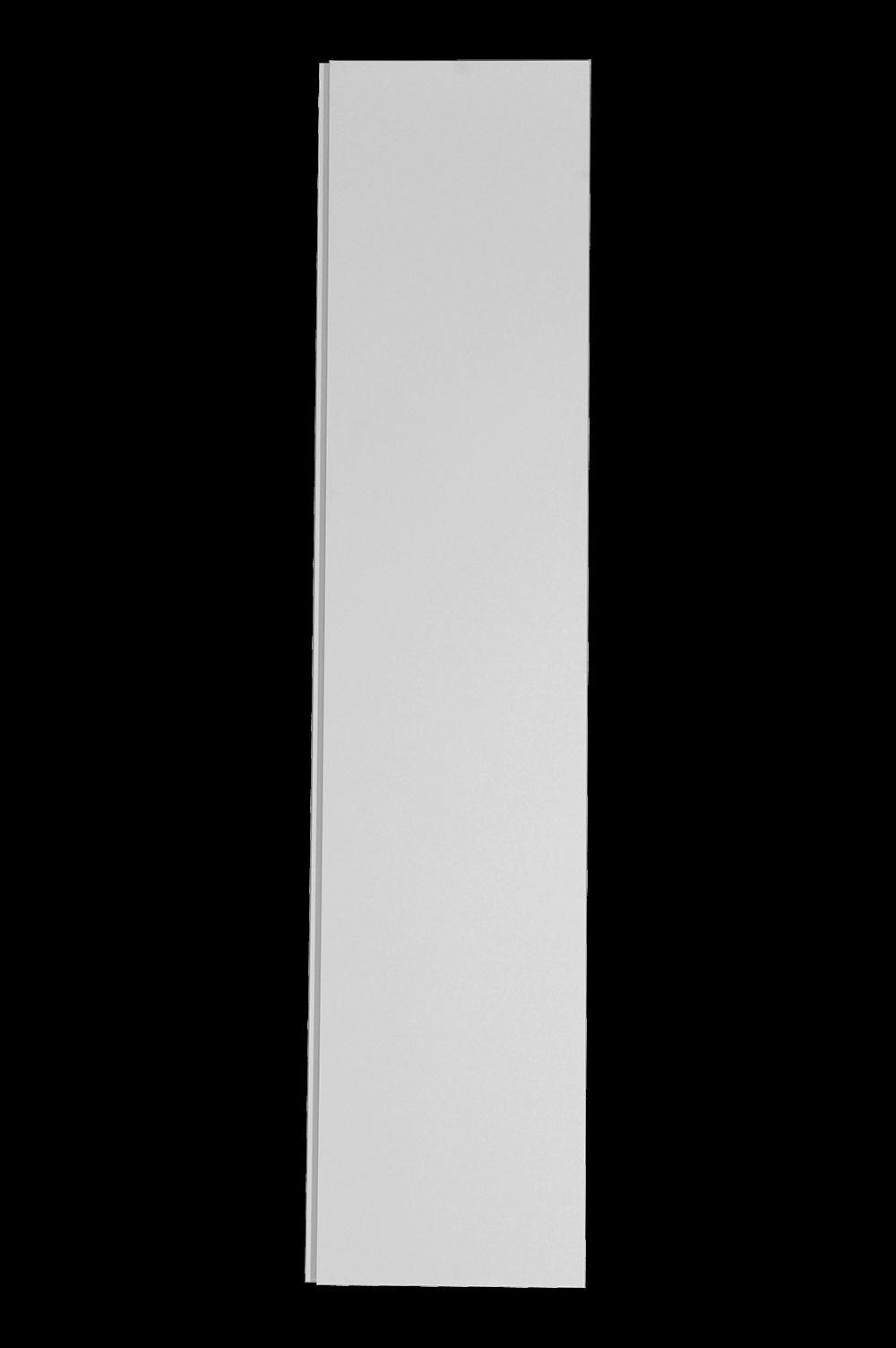 Flat Finger Pull wardrobe door