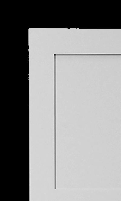 Jacobean Shaker wardrobe corner detail