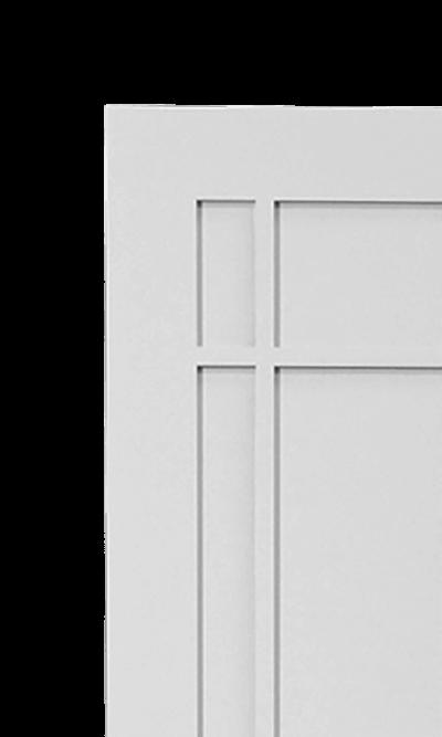 Macintosh wardrobe corner detail