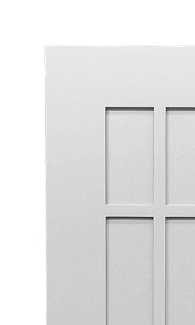 Macintosh Door corner detail